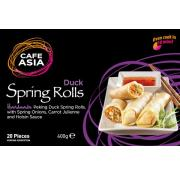 Cafe Asia Peking Duck Spring Rolls
