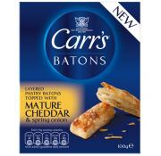 Carrs Batons Cheddar and Spring Onion