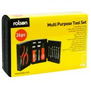 Rolson 26 Piece Tri Folding Tool Kit