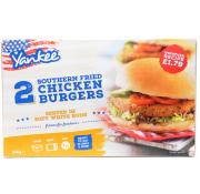 Yankee 2 Southern Fried Chicken Burgers