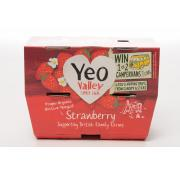 Yeo Valley Pots Organic Strawberry