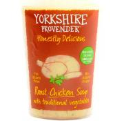 Yorkshire Provender Roast Chicken Soup with Traditional Vegetables