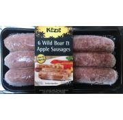 Kezie Wild Boar and Apple Sausages